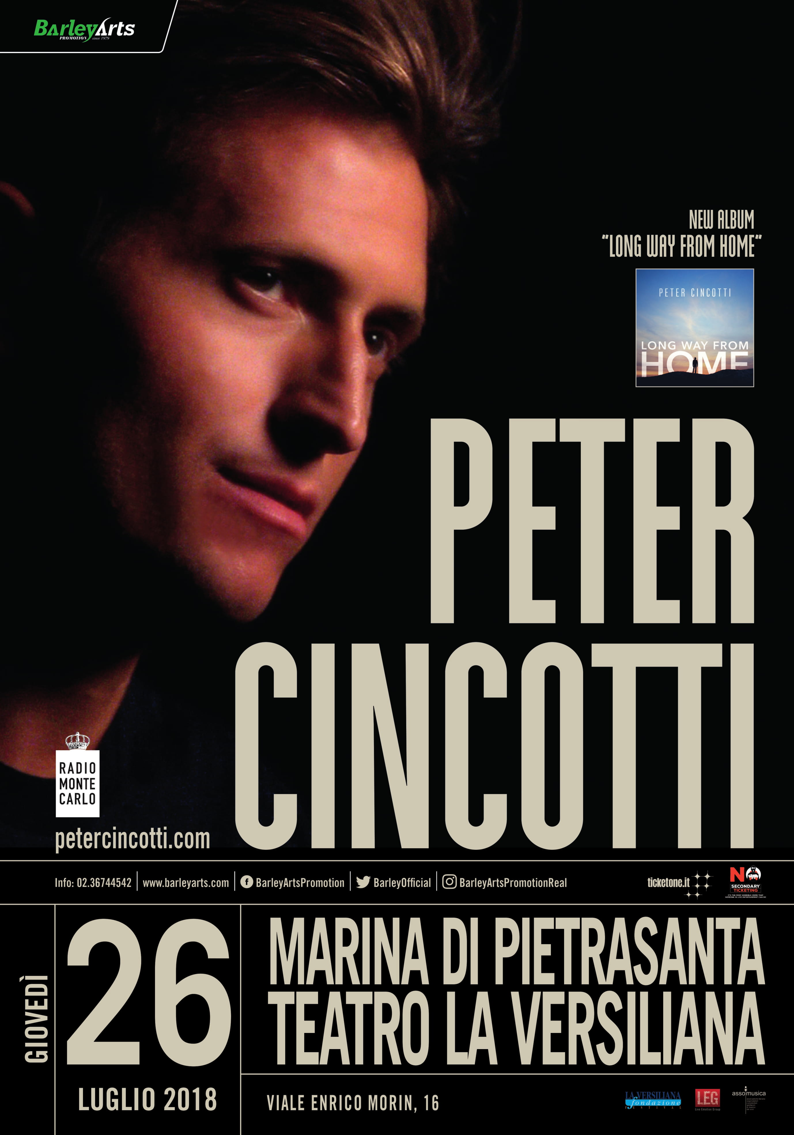 Peter Cincotti La Versiliana