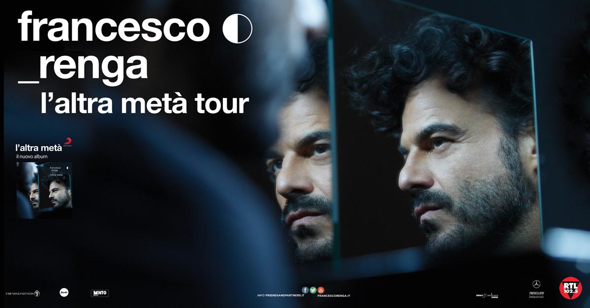 FRANCESCO RENGA L'ALTRA META' TOUR TETARO OPENJOBMETIS DI VARESE